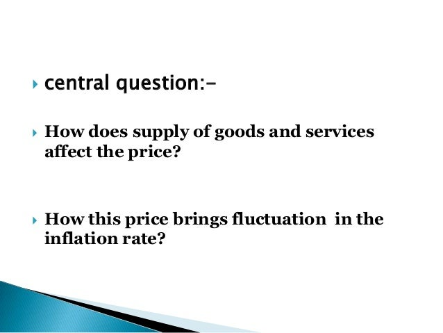 Importance of study inflation