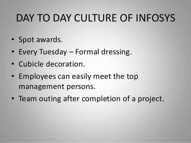 core values of infosys Infosys consulting case  are happy with the work culture and core values in the organization but the  infosys was founded in 1981 by narayana murthy.