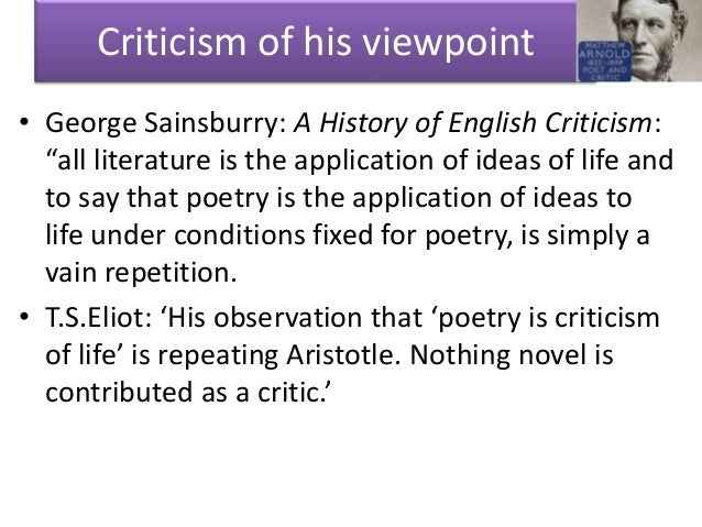 matthew arnold essay on keats Essays in criticism the study of poetry john keats wordsworth edited by susan s sheridan by matthew arnold 27 ratings, 359 average rating, 3 reviews essays in.