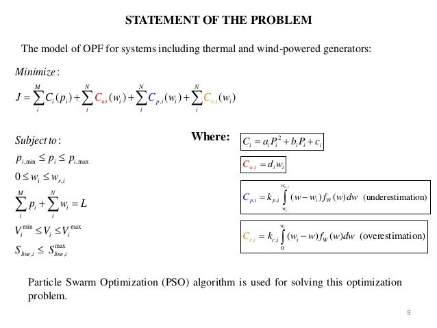 an analysis of particle swarm optimizers phd thesis An analysis of particle swarm optimizers phd thesis, university of pretoria, south africa, 2002 5 ioan cristian trelea the particle swarm optimization algorithm: convergence analysis and parameter selection inf process lett, 85(6):317-325, 2003 6 y shi and rc eberhart parameter selection in particle swarm optimization.