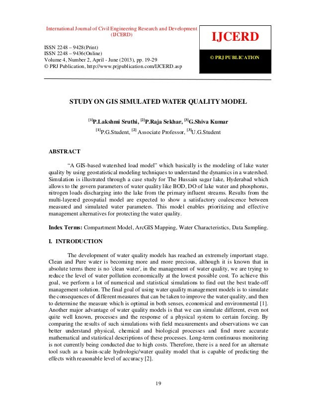 International Journal of Civil Engineering Research and Development (IJCERD), ISSN 2248- 9428 (Print), ISSN- 2248-9436 (On...