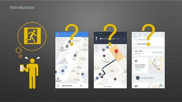 Study on interface design for smart phone based indoor for Indoor navigation design