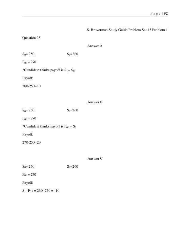 Exam FM - Lessons - The Infinite Actuary - Actuarial Exam ...