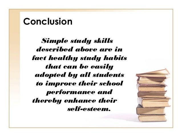study skills conclusion 7 benefits of study groups  develop your critical thinking skills while helping you study 4 learn new study skills  conclusion before you go and join a study .