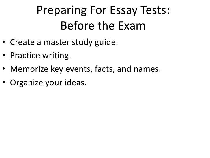 law essay exam tips