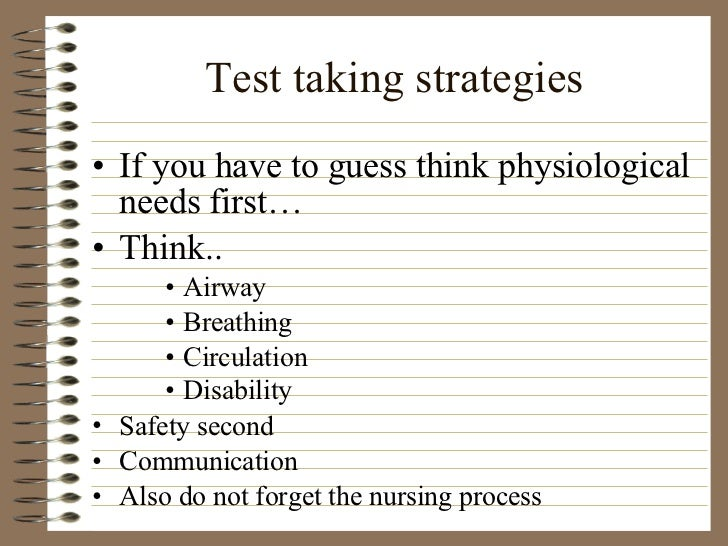 NurseReview Org - Study Skills and Test Strategies for the