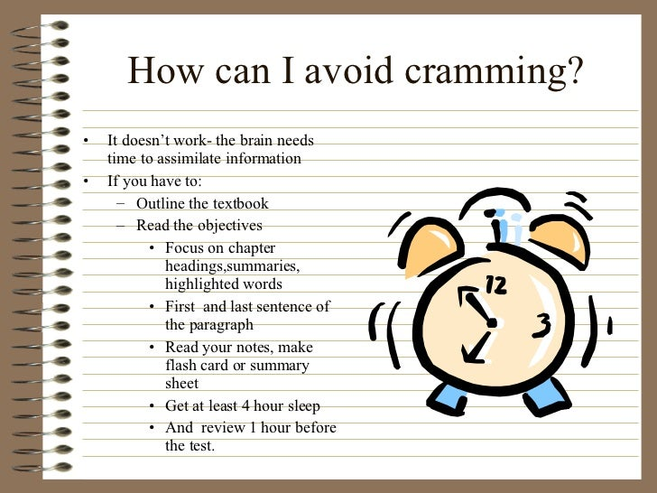 How to Study for a Test Without Cramming: 9 Steps (with ...