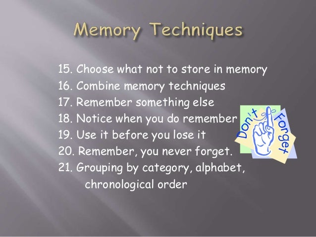 7 Tricks to Improve Your Memory | Time