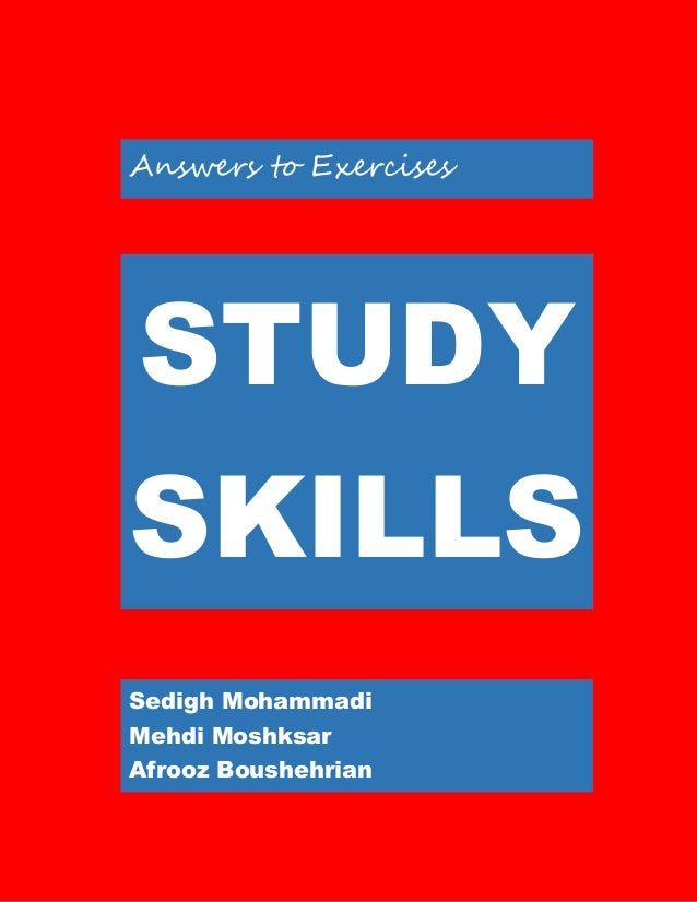 study skills College study skills – study smarter, not harder do studying, quizzes, and tests stress you out some college students believe that studying more is the solution.