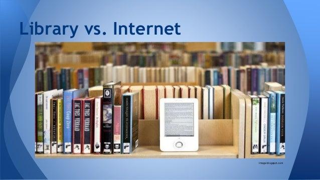 Library vs. Internet Image blogspot.com