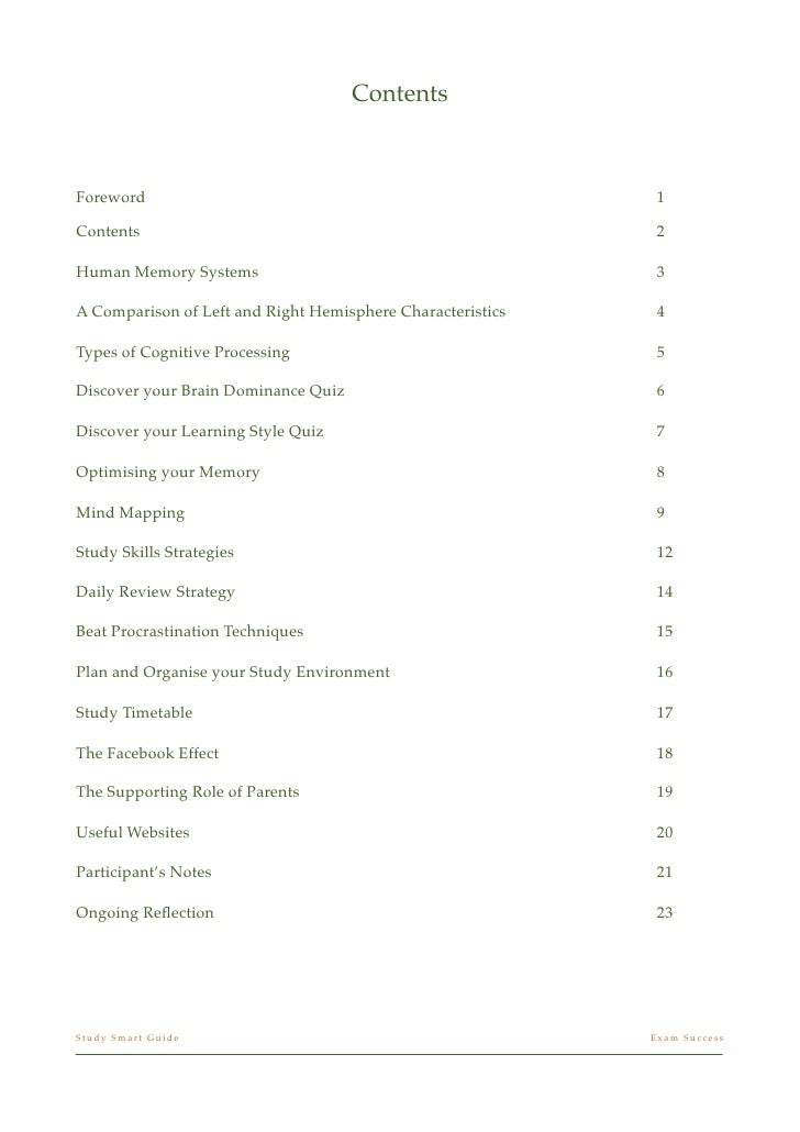 Study smart guide iva f-1