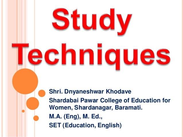 Shri. Dnyaneshwar Khodave  Shardabai Pawar College of Education for  Women, Shardanagar, Baramati.  M.A. (Eng), M. Ed.,  S...
