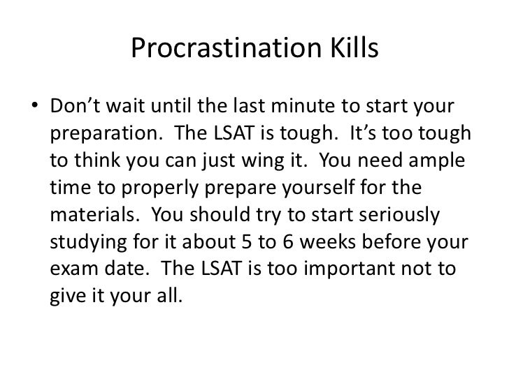 how to study for the lsat exam