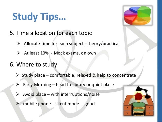 Study tips exam techniques ca india 4 5 time altavistaventures Gallery