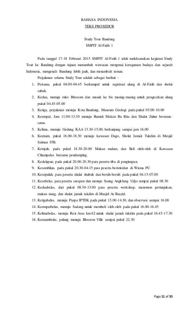 Contoh Laporan Kegiatan Study Tour Dalam Bahasa Sunda Kumpulan Contoh Laporan