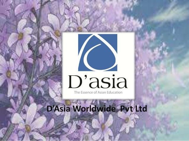 D'Asia Worldwide Pvt Ltd