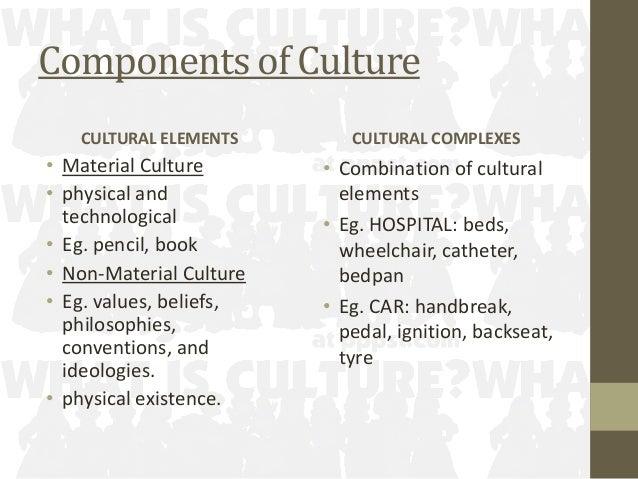 7 Components Of Culture Cultural Elements  E2 80 A2 Material