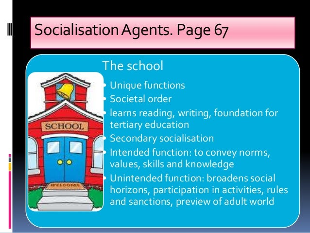 education and socialisation Sex education and sexual socialization: roles  we propose that clarifying the distinction between sex education and sexual socialization  health education.