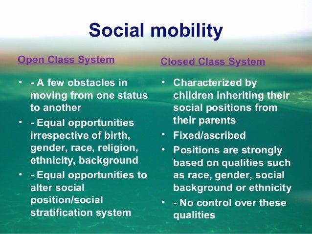 Social mobilty