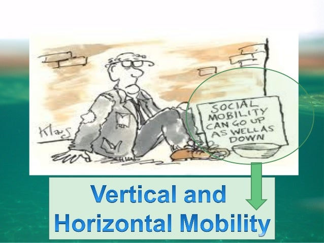 Vertical and Horizontal Mobility • Vertical Mobility • Refers to the upward or downward movement on the status ladder • Ex...