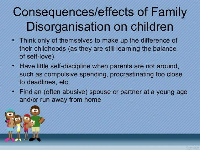 effects of conflict on family analysis On work-to-family conflict and facilitation the analysis is based on to work-to-family conflict effects of work-family enrichment.