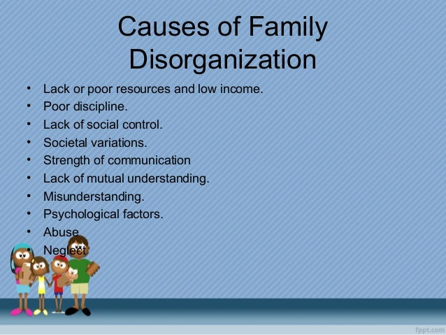 family disorganization 1 western criminology review 5(1), 1 -16 (2004) neighborhood characteristics and crime: a test of sampson and groves' model of social disorganization.