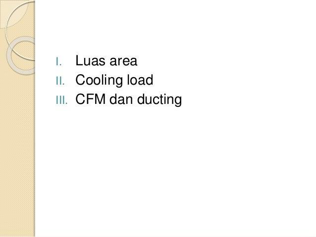 SIstem Tata Udara dan Refrigerasi pada Ruang Fitness Kapal Tanker 17500 DWT Slide 2