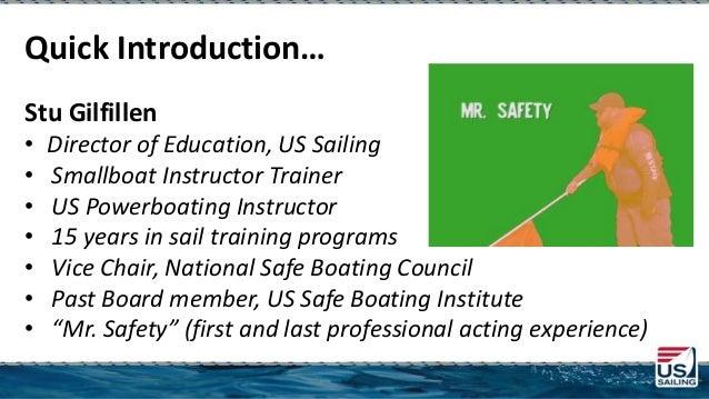 Weaving Life Jacket Wear Throughout US Sailing Programs  Slide 2