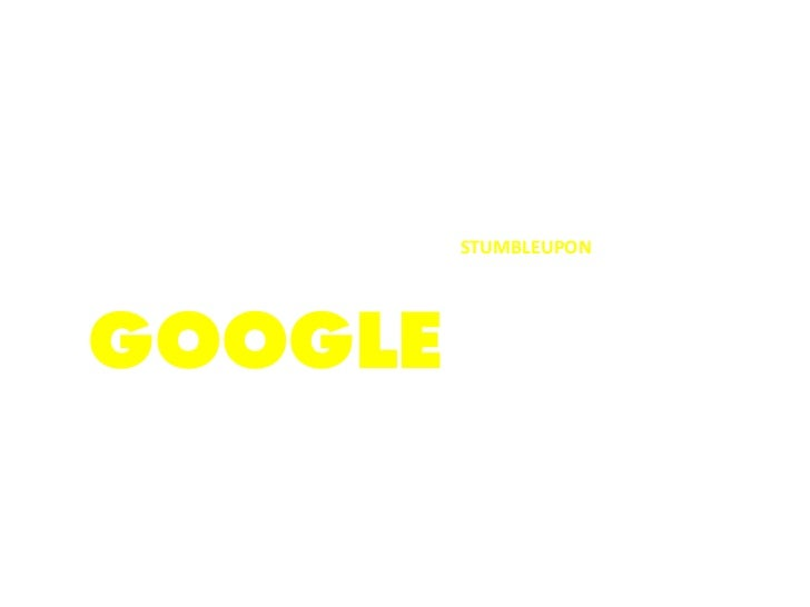 SEARCH   USEBEYOND          STUMBLEUPON          TO DISCOVER          THE OTHER 99GOOGLE          PERCENT OF          THE ...