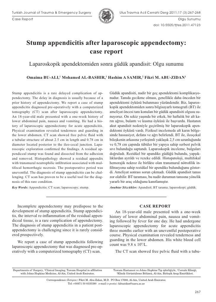 Turkish Journal of Trauma & Emergency Surgery                                       Ulus Travma Acil Cerrahi Derg 2011;17 ...