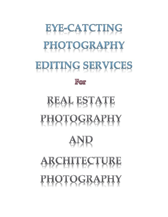 The Best Photo Editing Service