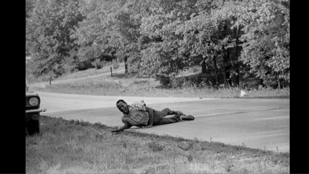 """1974: Pulitzer Prize Winner in Spot News Photography, Anthony K. Roberts. For his picture series, """"Fatal Hollywood Drama,""""..."""
