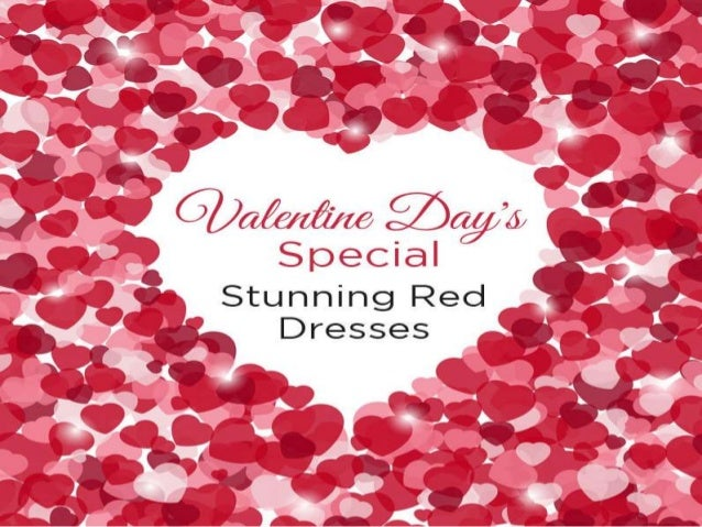 Stunning Red Dresses For Valentine\'s Day