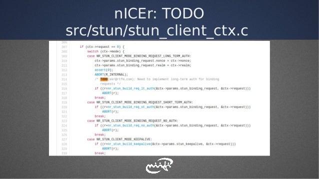 nICEr: TODO src/stun/stun_client_ctx.c