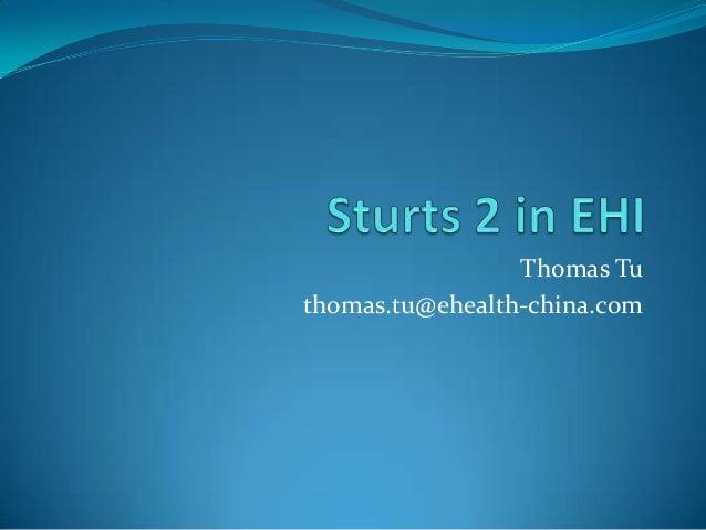 Thomas Tu thomas.tu@ehealth-china.com