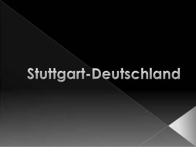 Region-Stuttgart Deutschland-Landkarte