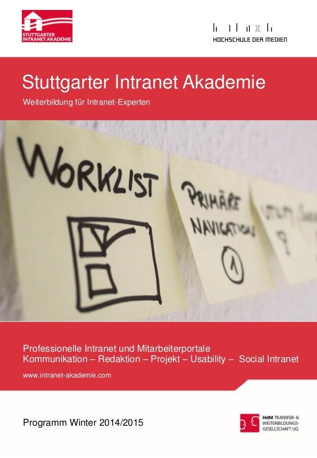 Professionelle Intranet und Mitarbeiterportale  Kommunikation – Redaktion – Projekt – Usability – Social Intranet  www.int...