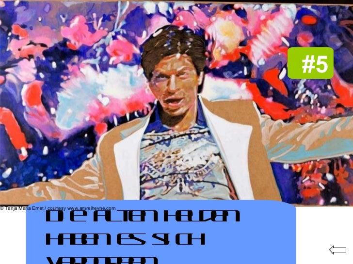 #4   #5   Die alten Helden haben es sich verdorben. © Tanja Maria Ernst / courtesy www.amreiheyne.com