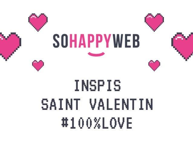INSPIS SAINT VALENTIN #100%LOVE