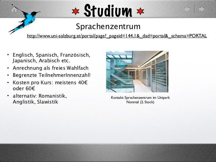 Studium                             Sprachenzentrum        http://www.uni-salzburg.at/portal/page?_pageid=144,1&_dad=porta...