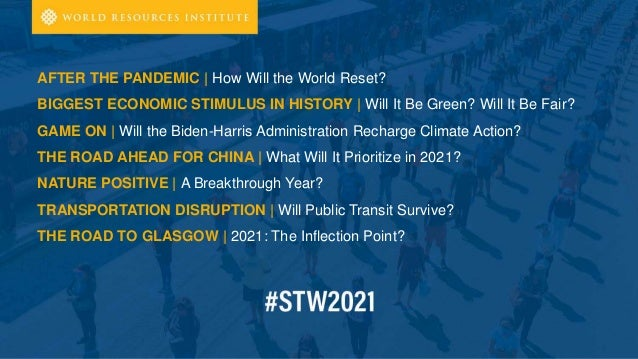 #STW21 - Stories to Watch 2021 | January 13, 2021