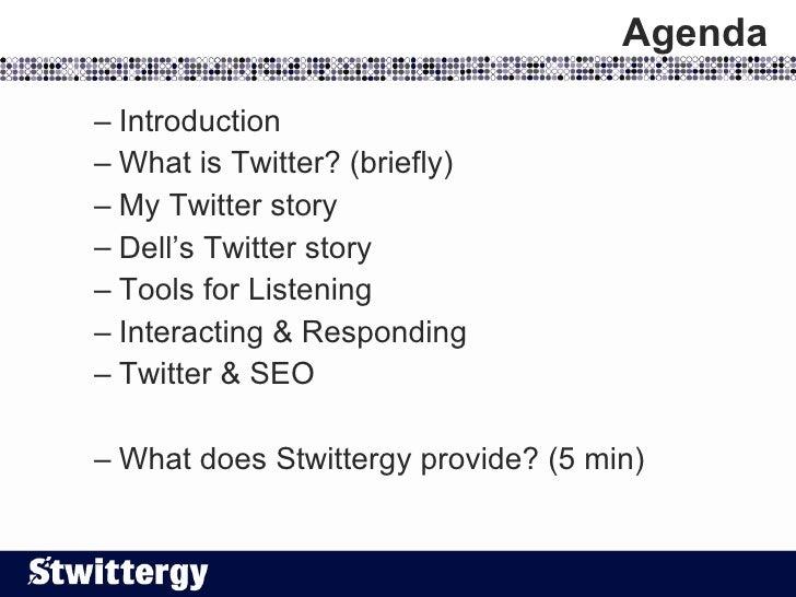 Stwittergy: Twitter for Business (Twitter Strategy, Marketing & SEO) Slide 2