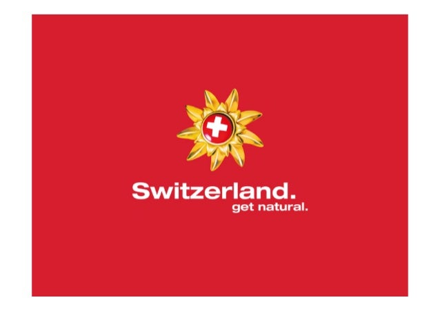Switzerland Tourism &  Swiss Tourism.  Introduction for students at HTW Chur – 13 October 2014