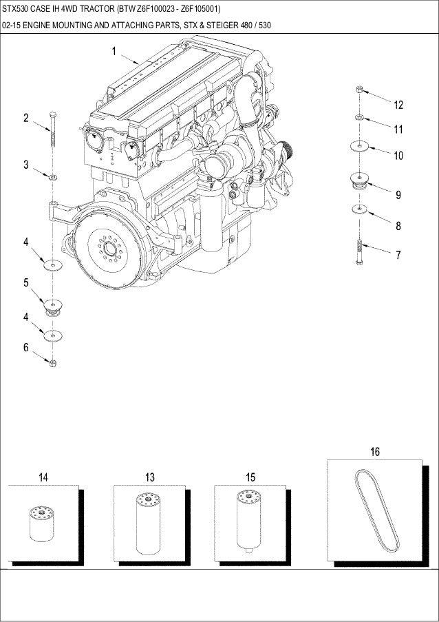 stx 530 case ih 4 wd tractor rh slideshare net