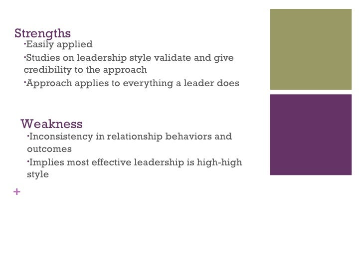 style approach to leadership This article provides an overview on the behavioural approach to leadership  a  particular leadership style may be effective in one situation, but it may not be.