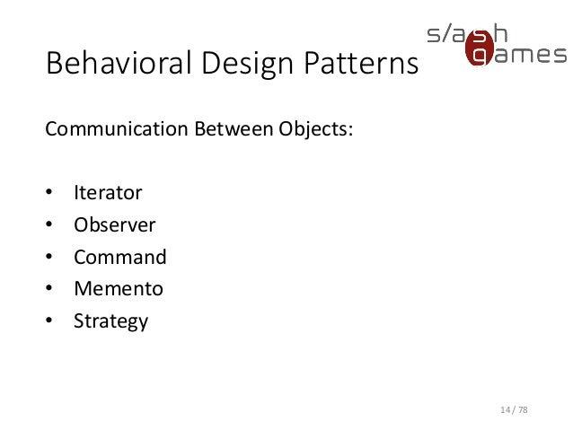 Allen Holub Design Patterns