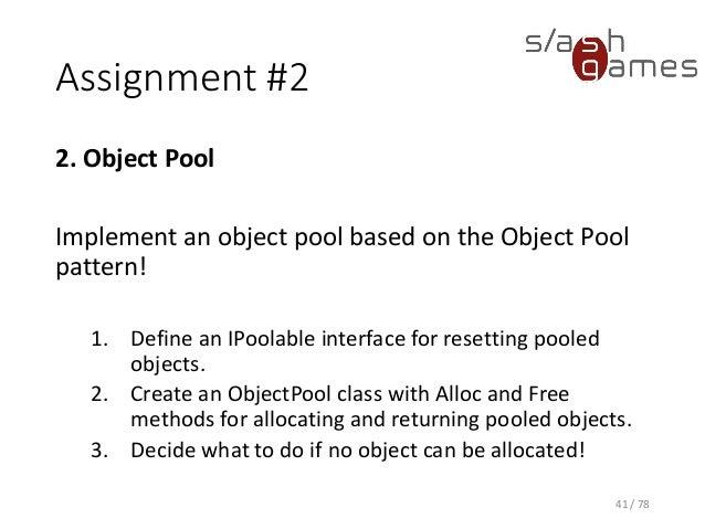 Style design principles 02 design patterns for Object pool design pattern java