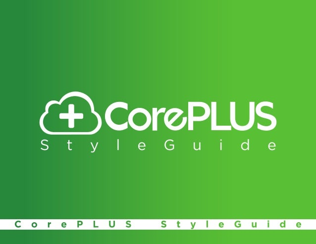 Table of Contents                Table of Contents                   1                Section 1: CorePLUS Logos           ...