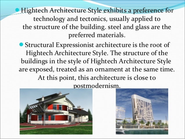 Style High Tech In Architecture Tu 3 9a