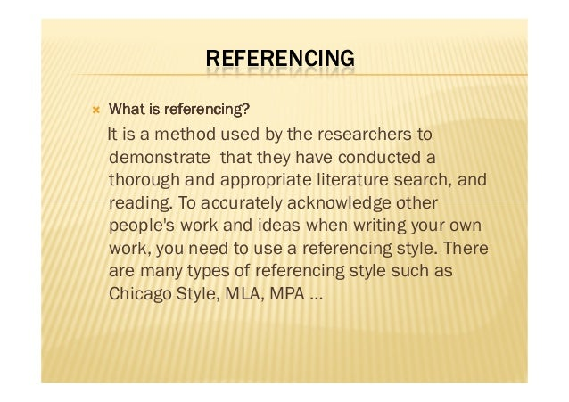 style manuals and reference management for researchers